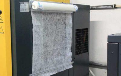 Velum filters beschermen uw machines